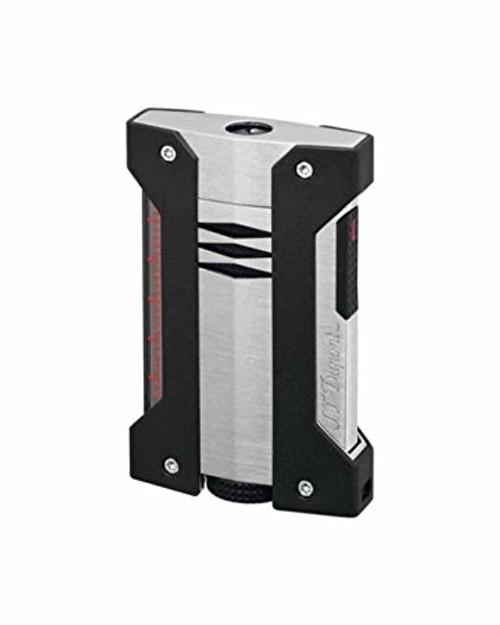 S.T. Dupont Defi Extreme Single Torch Chrome and Black Cigar Lighter