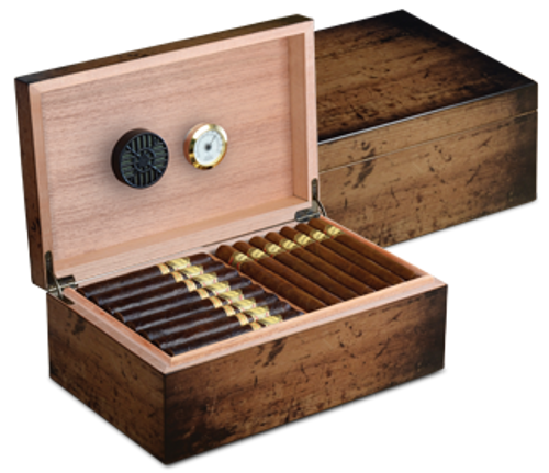 Craftsman's Bench Cigar Humidor Rustic