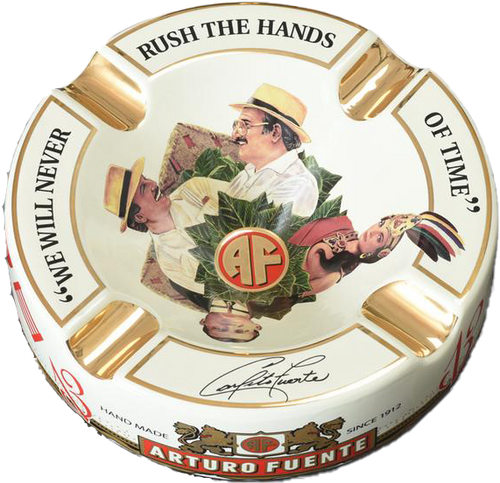 Arturo Fuente 'Journey' Ashtray Cream (White)