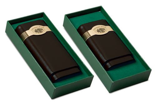 Craftsman's Bench Black 54-Ring Leather Case