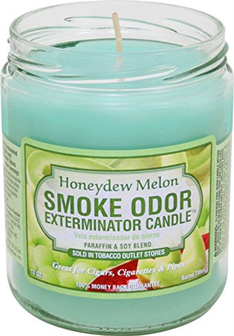 Smoke Odor Candle Honeydew Melon