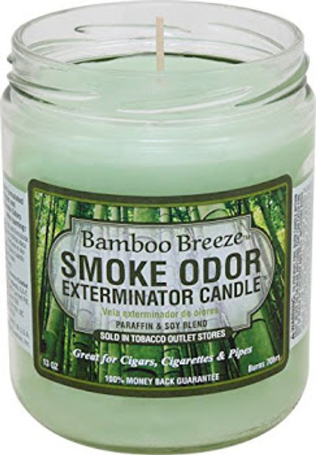 Smoke Odor Candle Bamboo Breeze