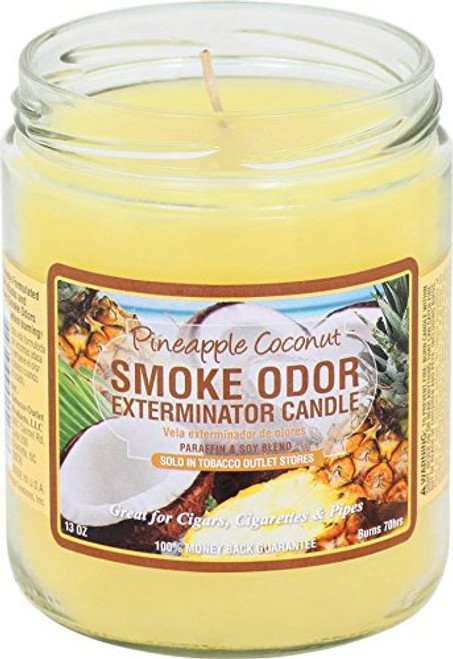 Smoke Odor Candle Piña Colada