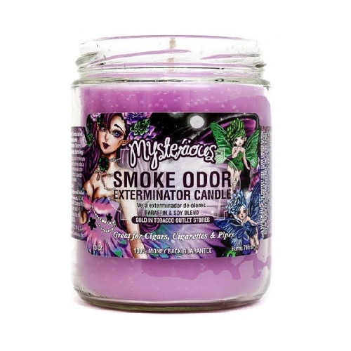 Smoke Odor Candle Mysterious