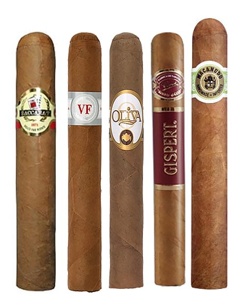 Mellow Mild and Smooth Cigar Sampler