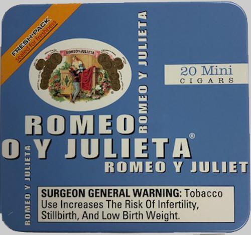 Romeo y Julieta Mini Cigarillos Blue Tin