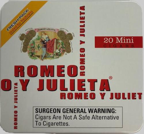 Romeo y Julieta Mini Cigarillos White Tin