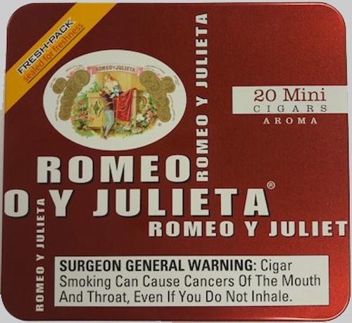 Romeo y Julieta Mini Cigarillos Red Tin