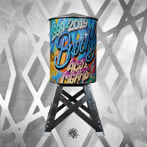 Acid Kuba Arte Water Tower QUEEN ANDREA