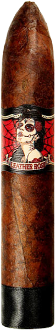 Deadwood Tobacco Co. Leather Rose Torpedo