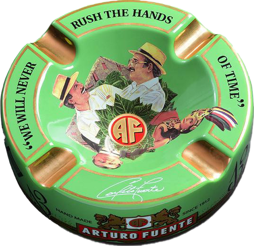 Arturo Fuente 'Journey' Ashtray Green