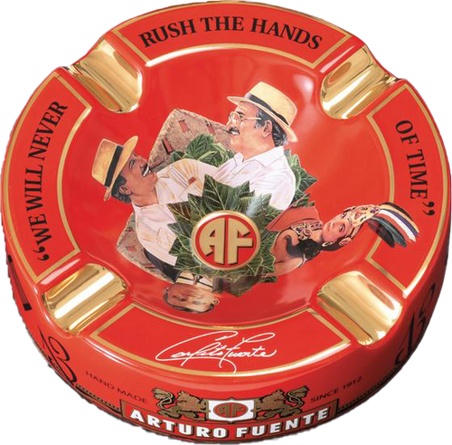 Arturo Fuente 'Journey' Ashtray Red