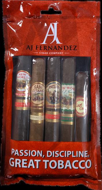 AJ Fernandez Sampler Bag: Passion, Discipline Great Tobacco