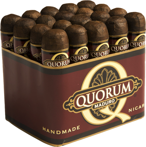 Quorum MaduroShort Robusto 50x3.5
