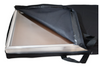 Black Aluminum Carrying Bag with Handles