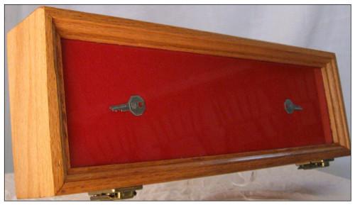 7 x 18 x 2   Wood Display Case