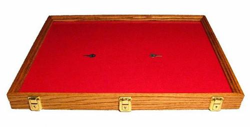 18 x 24 x 2  Wood Display Case