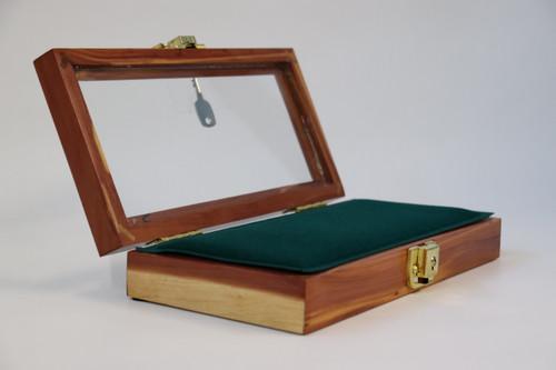 5 x 10 x 2 Wood Display Case