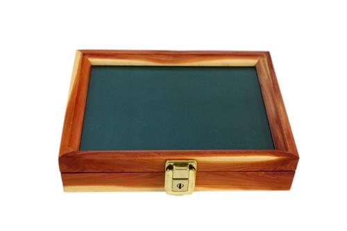 9.5 x 7.5 x 2 Cedar Display Case