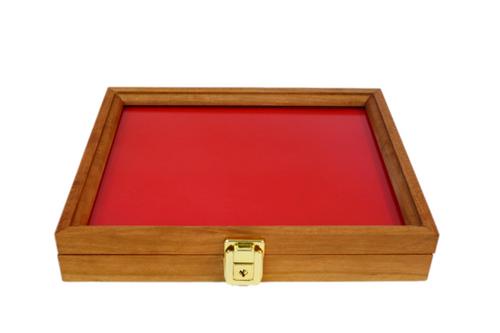 12 x 9.5 x 2 Cherry Display Case