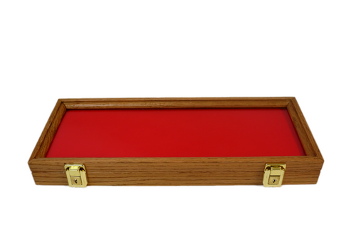 18 x 7 x 2 Oak Display Case