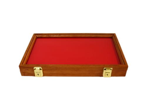 16 x 9 x 2 Cherry  Display Case