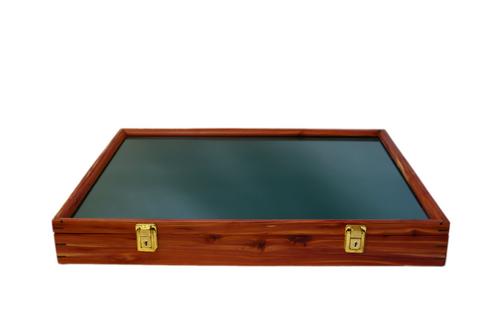 24 x 18 x 3 Cedar Display Case