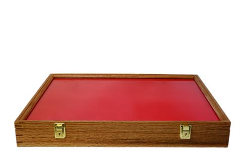 24 x 18 x 3 Oak Display Case