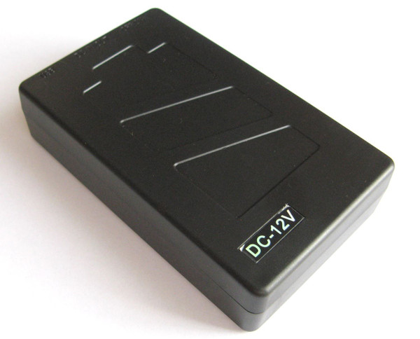 12V DC Rechargeable Li-ion Battery Pack 4800mAh with UK charger for CCTV Camera