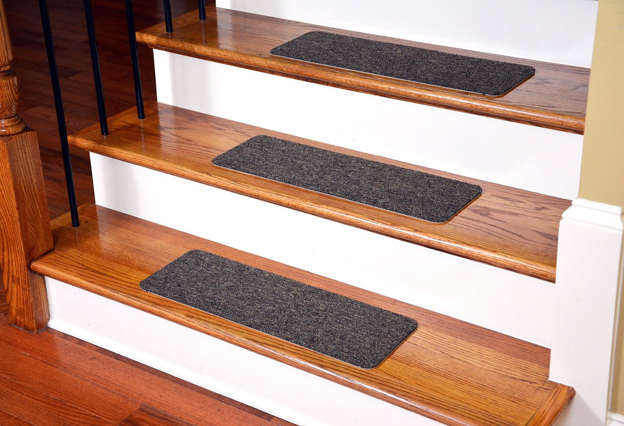 Dean Non Skid Peel Stick Carpet Stair Treads Set Of 13