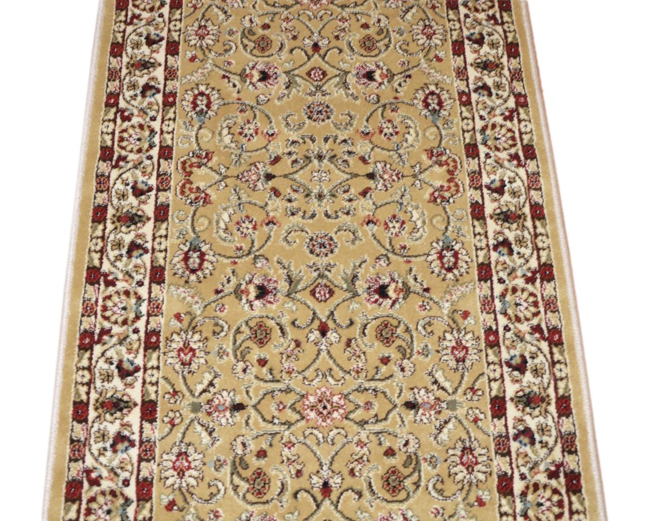 Dean Classic Keshan Gold Custom Length Carpet Rug Runner