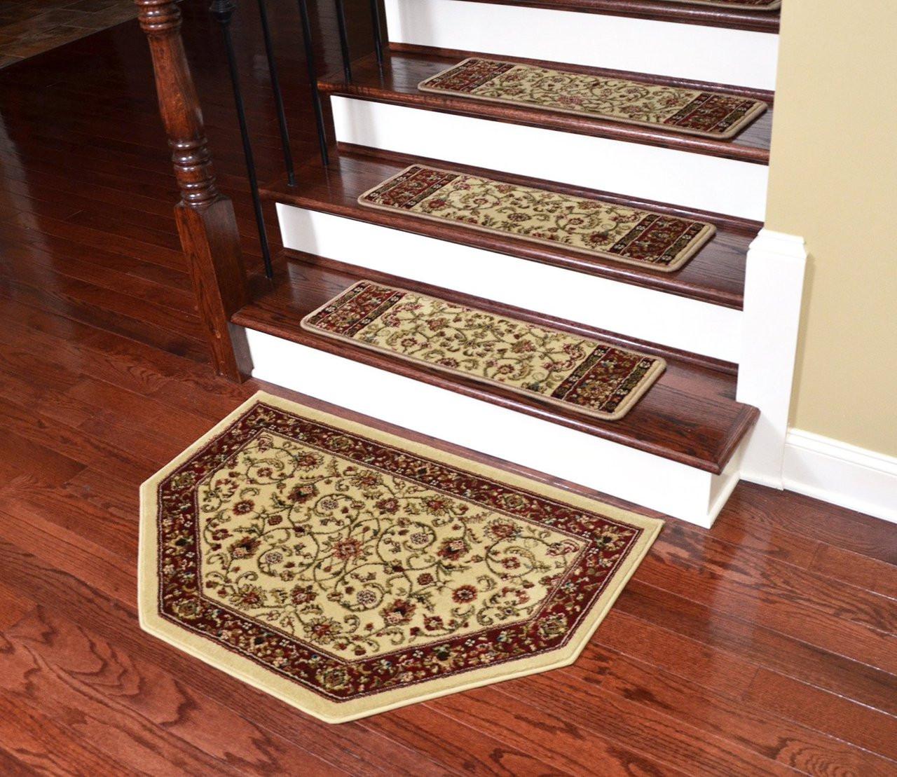 Dean Non Slip Pet Friendly Carpet Stair Step Cover Treads Classic