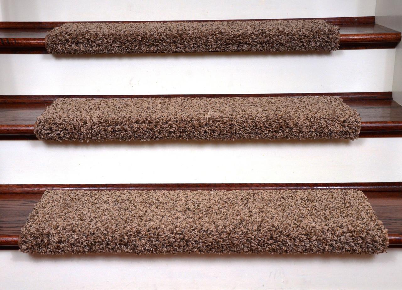 Dean Non Slip Bullnose Carpet Stair Tread Set Of 3
