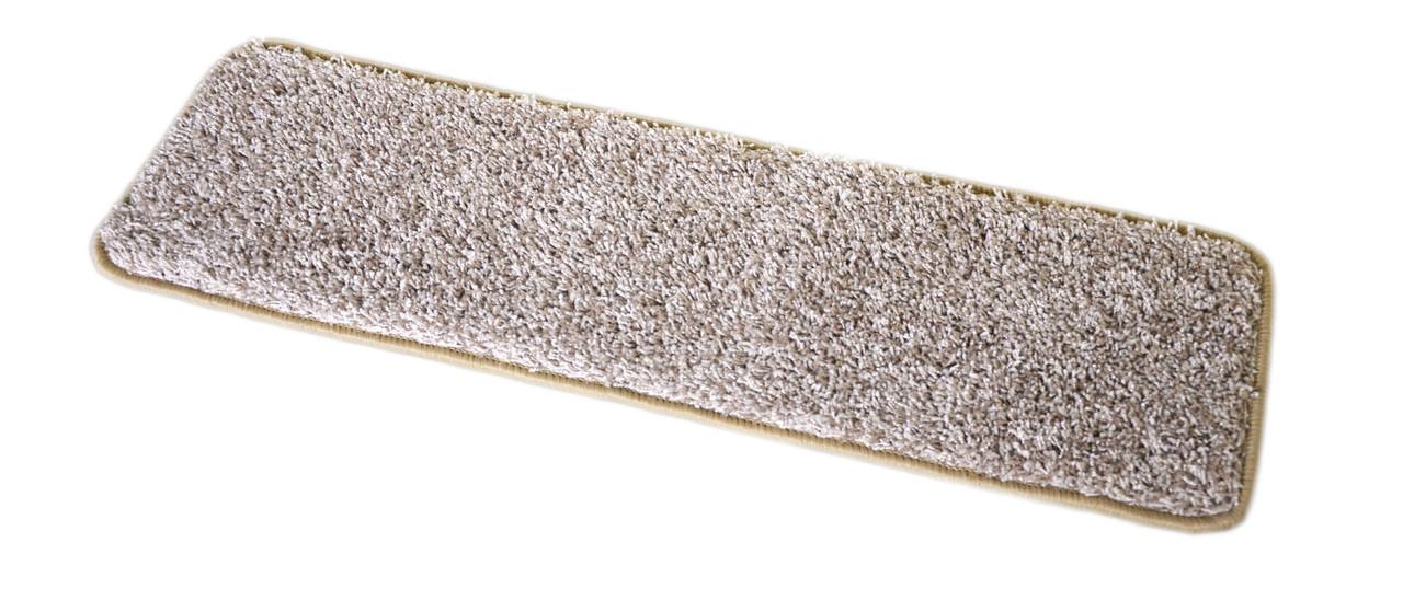 Dean Washable Non Slip Carpet Stair Treads Macadamia Beige