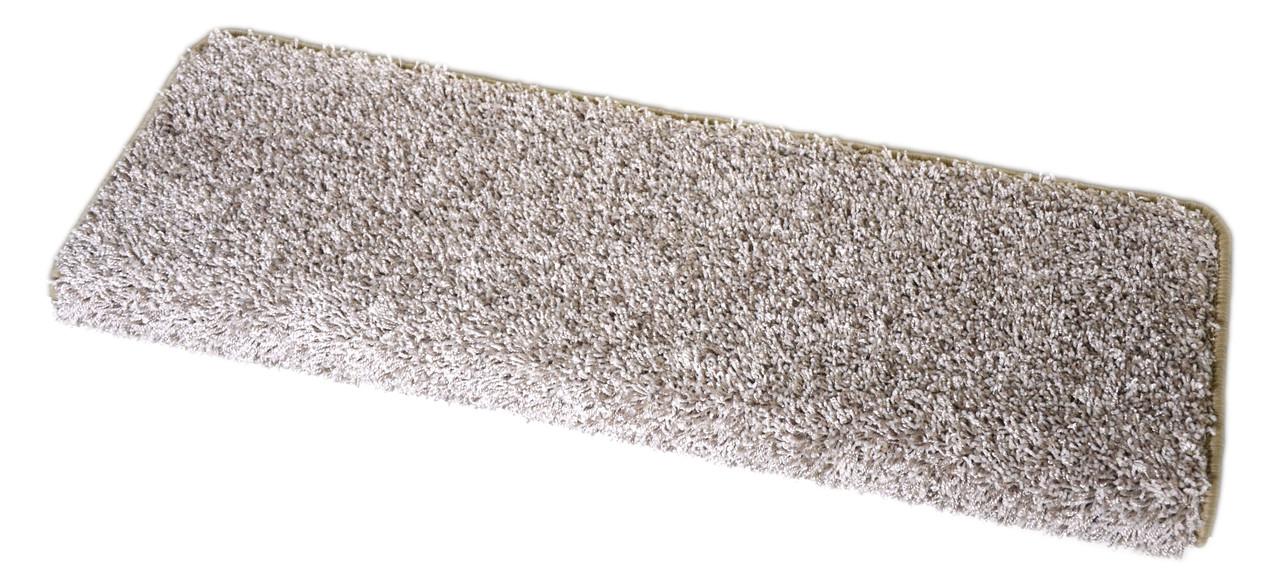 Macadamia Beige Bullnose Carpet Stair Treads