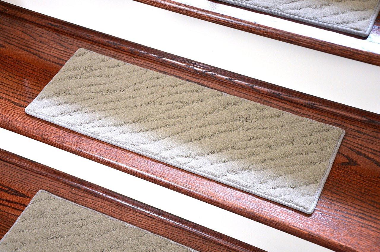 Dean Indoor Outdoor Carpet Stair Treads Set Of 3 Gray