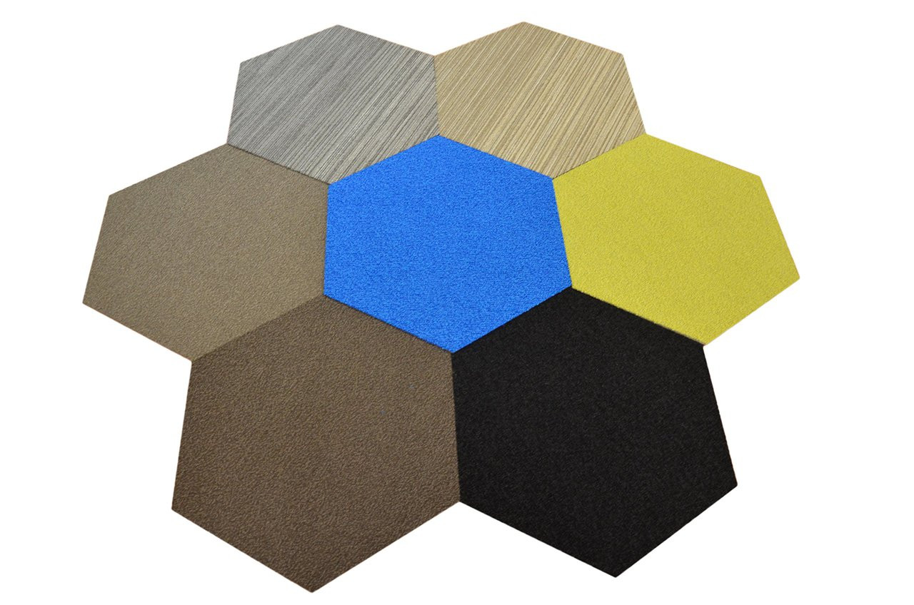 Carpet Tiles Peel and Stick Blue 12 Inch 144 Square Feet