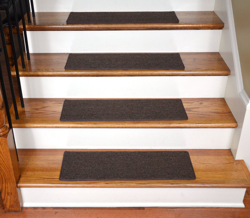 Diy Stair Treads Out Of Flor Tiles: DIY Carpet Stair Treads