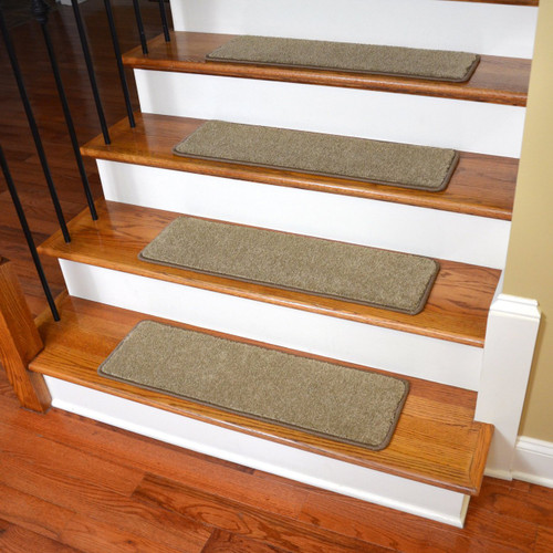 "Diy Stair Treads Out Of Flor Tiles: 30"" X 9"" Non-Slip, Tape-Free DIY Stair Treads, 15 Pcs"