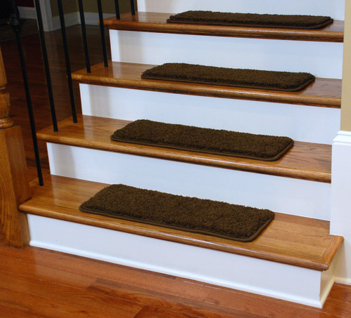 "Diy Stair Treads Out Of Flor Tiles: Dean Premium Serged DIY Carpet Stair Treads 27"" X 9"