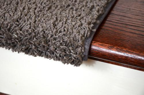 Dean Bullnose Carpet Stair Treads Set Of 3 Gray