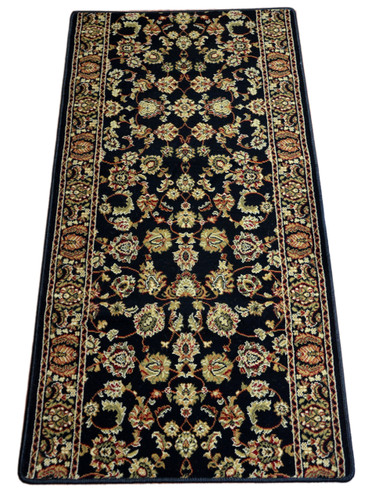 Elegant Keshan Ebony 31 Quot X 60 Quot Carpet Runner Rug Dean