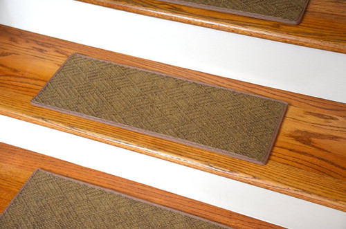 Indoor Outdoor Stair Treads Contour Beige 8 Quot X 23 Quot