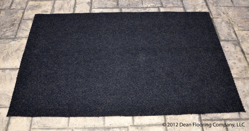 Dean 4 X 6 Indoor Outdoor Black Carpet Door Mat Rug