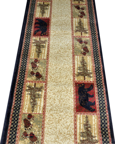 Dean Cade S Cove Bear Lodge Carpet Runner 2 3 Quot X 7 7 Quot