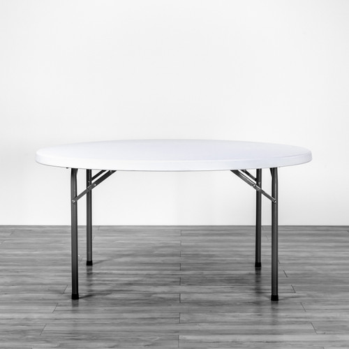 Poly Folding Table Round