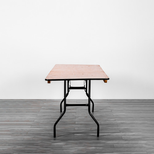 Wooden Banquet Table Rectangle