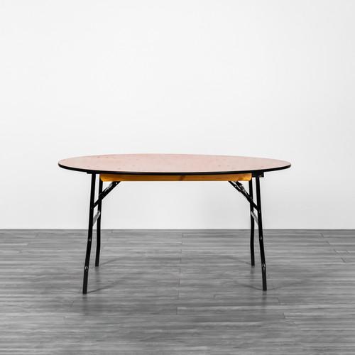 Wooden Banquet Table Round