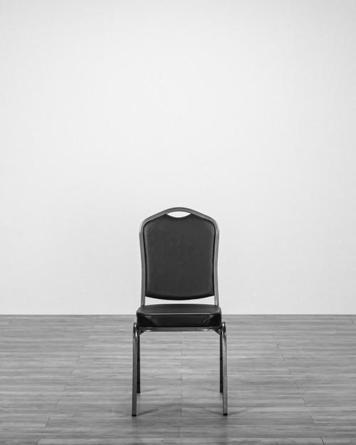 Banquet chair, Black Vinyl Chair, wedding chair, Event Chair Stacking Chair