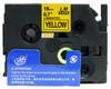 3/4 black on yellow label tape